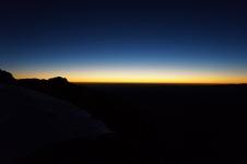 Saullēkts uz kores