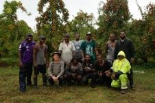 Vēl viena darba komanda no Vanuatu, ar kuriem kopā pavadīju dažas nedēļas. Šajā komandā strādāja arī Pēteris. Moffeth, John, Goedfrey, Hensly, Noel, Jethro, Deni, Pēteris, Esso, Leo, Watzone, Martin