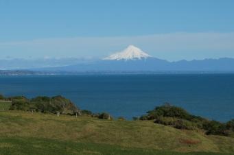 Taranaki vulkāns.