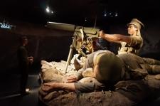 Gallipoli izstādē milzu ekspozīcijas veidotas Weta Cave studijā. Katra sīkākā detaļa izstrādāta - siekalas mutē, asaras acīs, matiņi uz ādas - viss šķiet kā dzīvs...